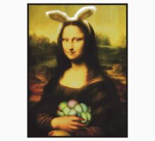 Mona Lisa Easter Bunny  Kids Clothes