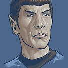 Spock by cs3ink