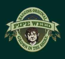 Baggins Original Pipe Weed - Grown In The Shire by SatiricalStylez