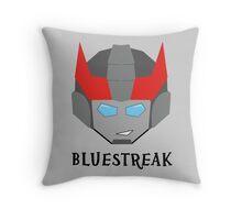 Bluestreak Throw Pillow