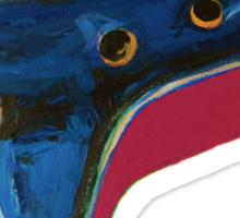 Pop Art-Inspired Ocarina  Sticker