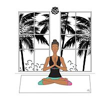 Yoga Girl. by 1XOROSE