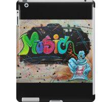 Street Music iPad Case/Skin