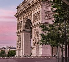 Arc de Triomphe by CarrieAnnKouri