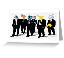 Reservoir Pokedogs Greeting Card