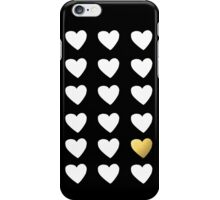 Golden Heart iPhone Case/Skin