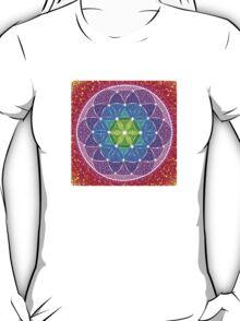 Sunny Flower of Life T-Shirt