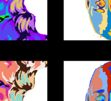 Khaleesi Pop Art [Warhol] | Game of Thrones Sticker