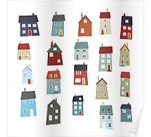 Little Houses Poster