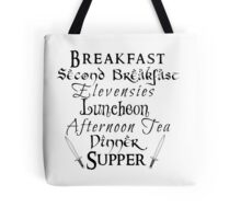 Second Breakfast Lord of the Rings Tote Bag