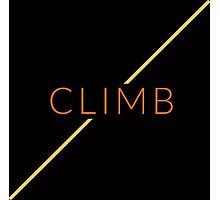 Rock Climbing Photographic Print