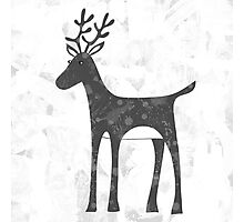 Genevieve's Reindeer Photographic Print