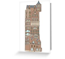 institute of schizophrenic architects Greeting Card