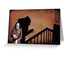 A Symphony of HORROR! Greeting Card