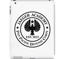 Jaeger Academy logo in black! iPad Case/Skin