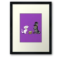 BUSTED! Framed Print