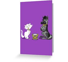 BUSTED! Greeting Card
