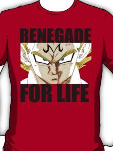 Majin Vegeta - Renegade For Life T-Shirt