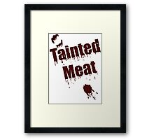 The Walking Dead Tainted Meat Framed Print