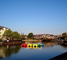 Colours at Exeter Quay by Charmiene Maxwell-batten