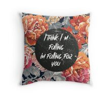 The 1975- falling for you Throw Pillow