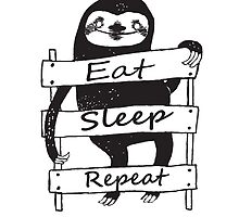 Funny sloth t-shirt and more by UrbanTees