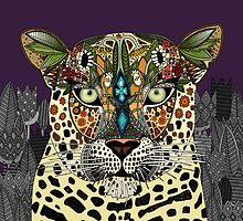 leopard queen by Sharon Turner