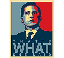 Michael Scott Poster/Throw Pillow Photographic Print