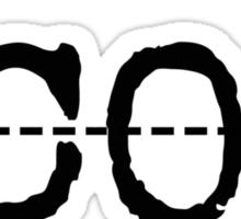Cut CO2 Sticker