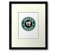 Torchwood- Ianto's Coffee Framed Print