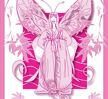 Madame Butterfly Pink (2007) by Robyn Scafone