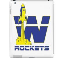 Wellston Rockets iPad Case/Skin