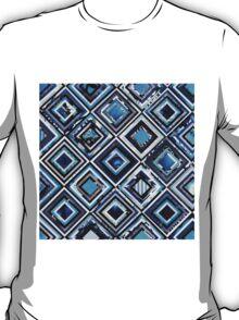 Test Pattern (Blue) T-Shirt
