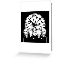 The Gentlemen - Buffy the Vampire Slayer Greeting Card