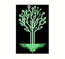 Tree of Technological Knowledge Art Print