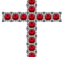 October Ruby Cross by eldonshorey