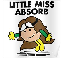 Little Miss Absorb Poster