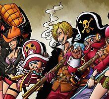 One Piece Film Z by Deer-Head-Xiris