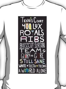 Lorde Songs T-Shirt