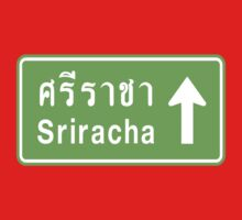 Sriracha, Thailand Ahead ⚠ Thai Traffic Sign ⚠ by iloveisaan