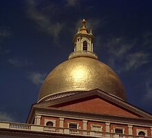 <State House Dome> by John Schneider