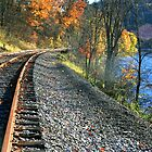 Tracks Along Oil Creek by Geno Rugh
