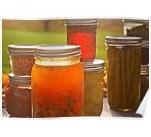 Canning in Autumn Poster