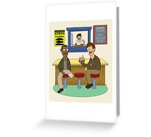 Bob Burgers Greeting Card