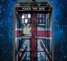 British Union Jack Space And Time traveller by Arief Rahman Hakeem