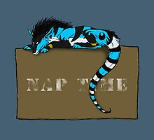 Nap Time Dragon by SkyFire428