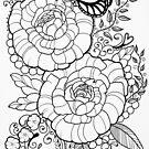 Peony Tattoo Design by Julia  Ockert