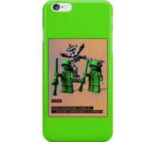 Sitrep from Check Point Charlie iPhone Case/Skin