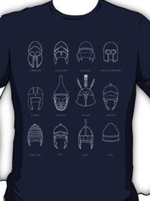 Greek Helmets  T-Shirt