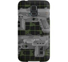 Lawgiver MKII Double Schematic Vector Samsung Galaxy Case/Skin